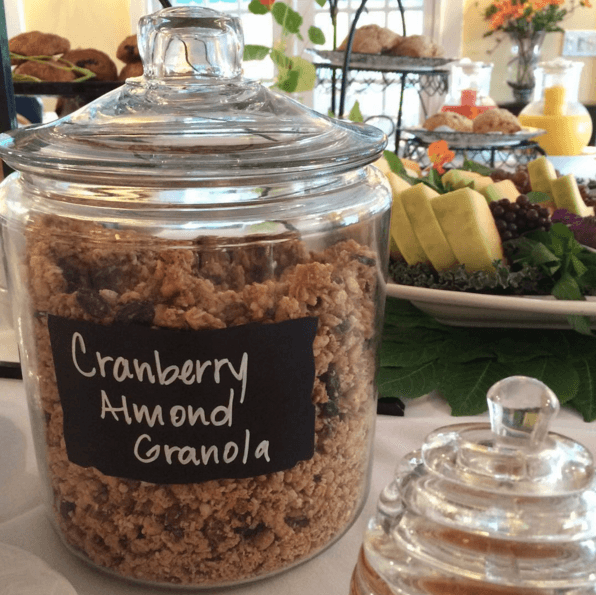 House Cranberry Almond Granola