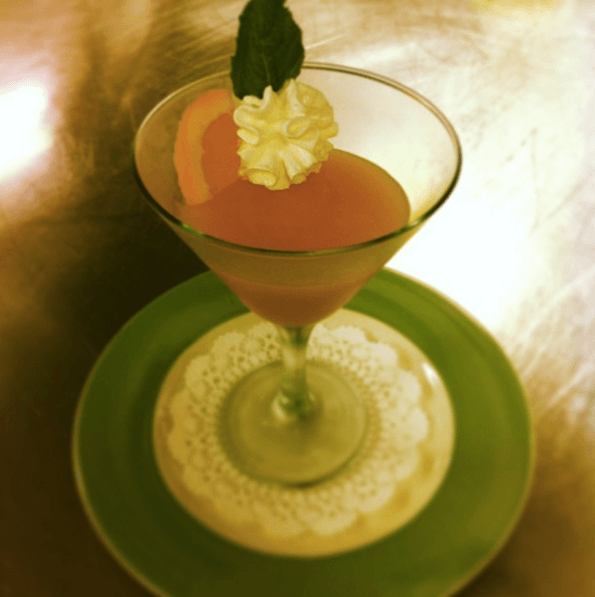 Grapefruit Breakfast Martini